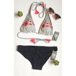 Vince Camuto Tassel Bikini